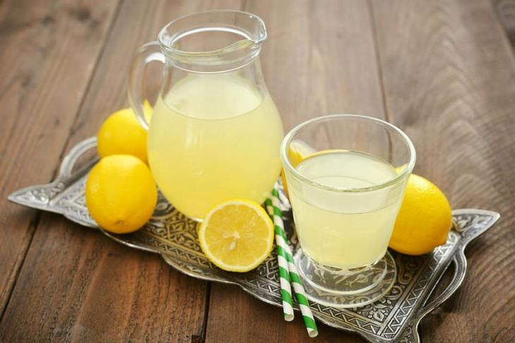 Lemon juice in a pitcher | Healthiest Foods To Eat