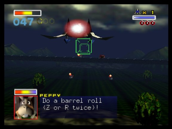 star-fox-64gameplay