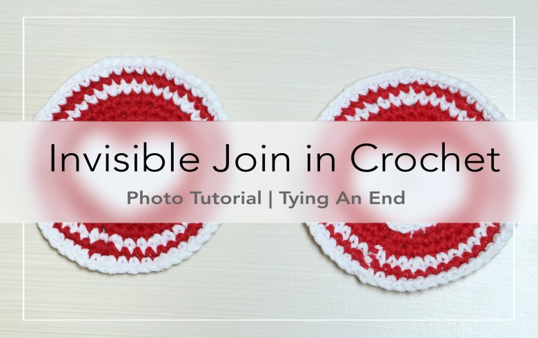 [How to Crochet] Invisible Join when you are working in round with multiple colors