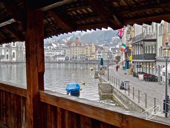 Kapellbrücke Luzern Switzerland
