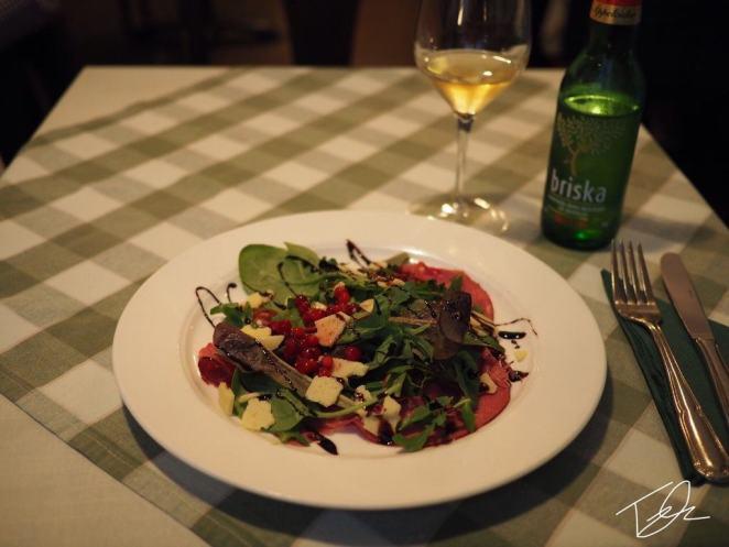 Reindeer salad sweden