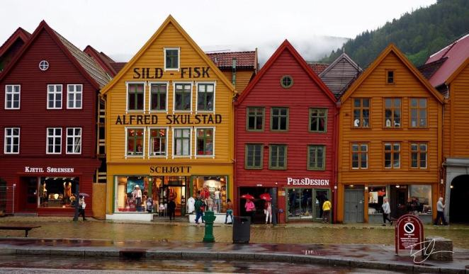 Bryggen Wharf Bergen