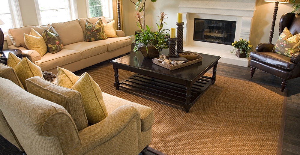 living room with furniture furniture store retail solution