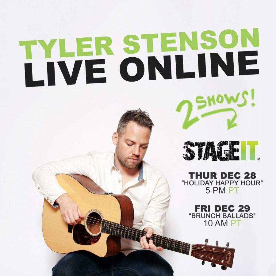 Tyler Stenson - Live Online Shows