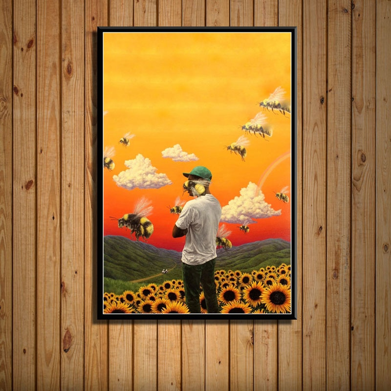 Poster Prints Tyler the Creator Flower Boy IGOR Art Canvas Painting