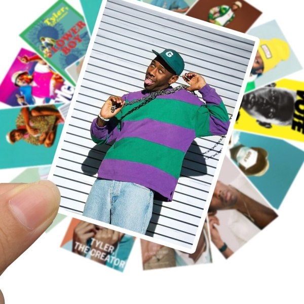 25pcs Rapper Singer Tyler The Creator Portrait Sticker