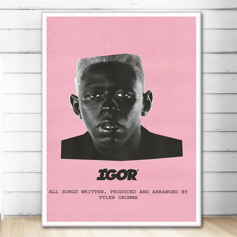 Tyler The Creator Igor 2019 Art Canvas Wall Painting