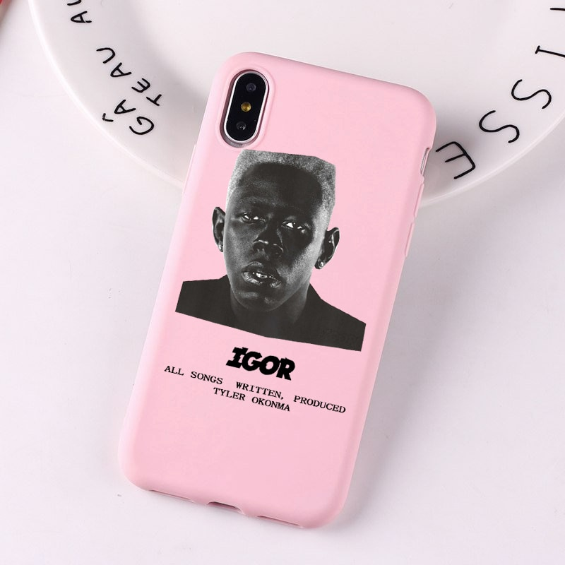 Igor Album Pink Color Cover For Iphone