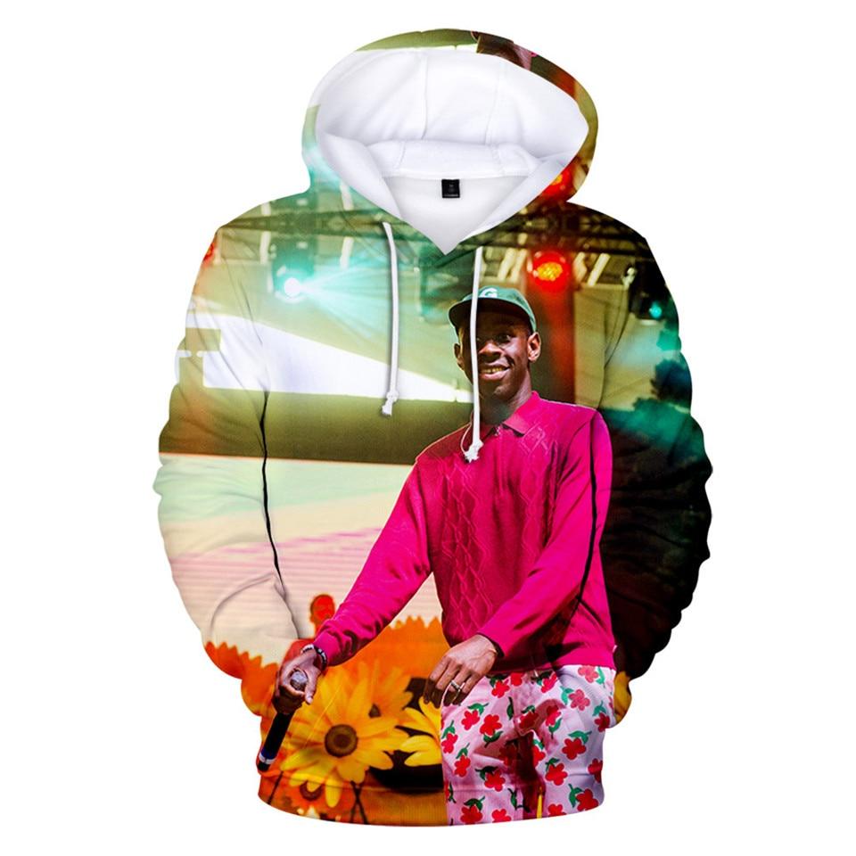 Tyler The Creator Golf Fire Flame 3D Hoodie