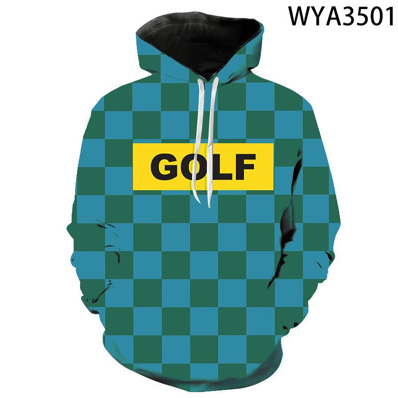 Tyler The Creator 3D GOLF Printed Hoodie