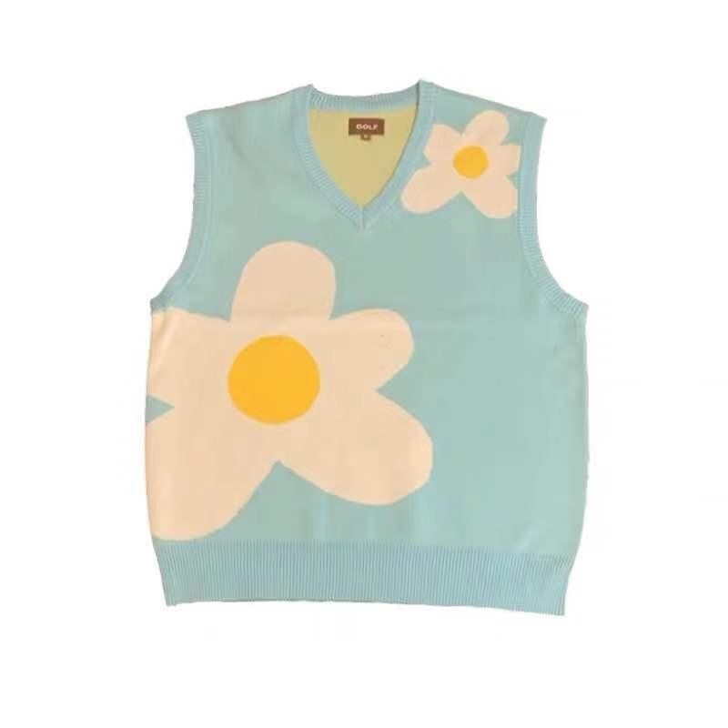 Flower Le Fleur Tyler The Creator Knit Casual Sweater