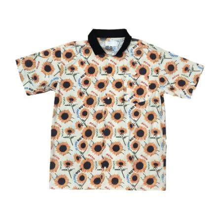 Tyler The Creator Sun flower Pocket Short-sleeves T-Shirt