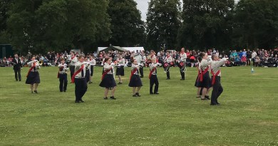 Alderley performing at Halesowen contest 2017