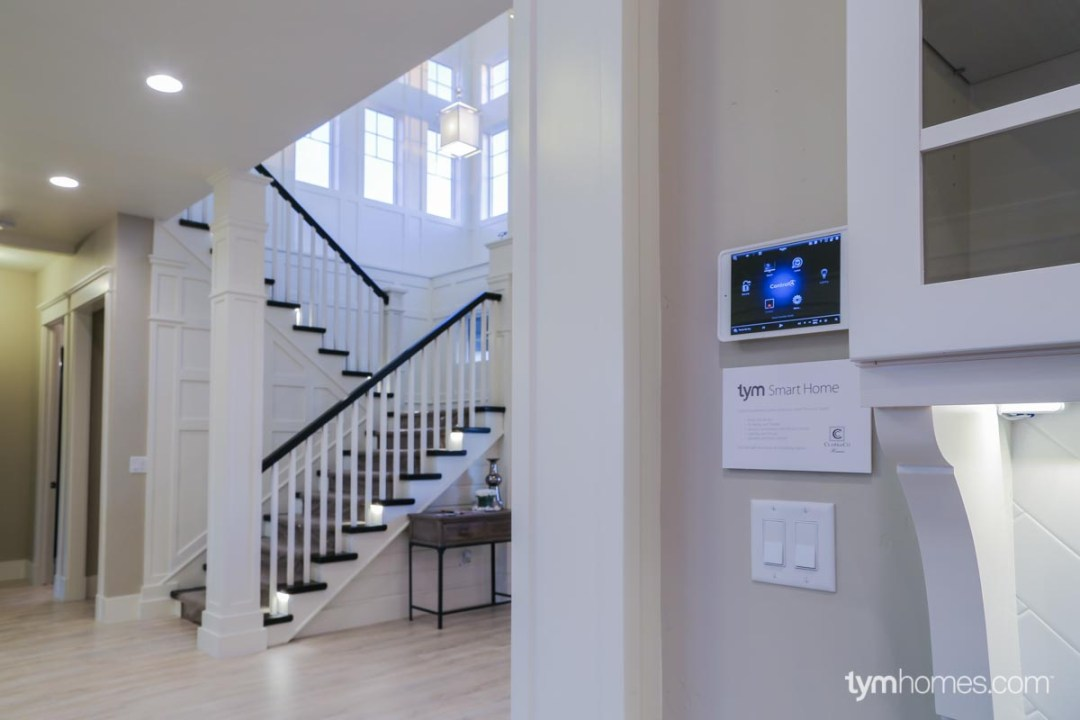 Wall-mounted iPad for Smart Home control, Boise, Idaho
