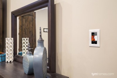 Wall-Mounted iPod Touch for Mirage Home Audio - Salt Lake Parade of Homes