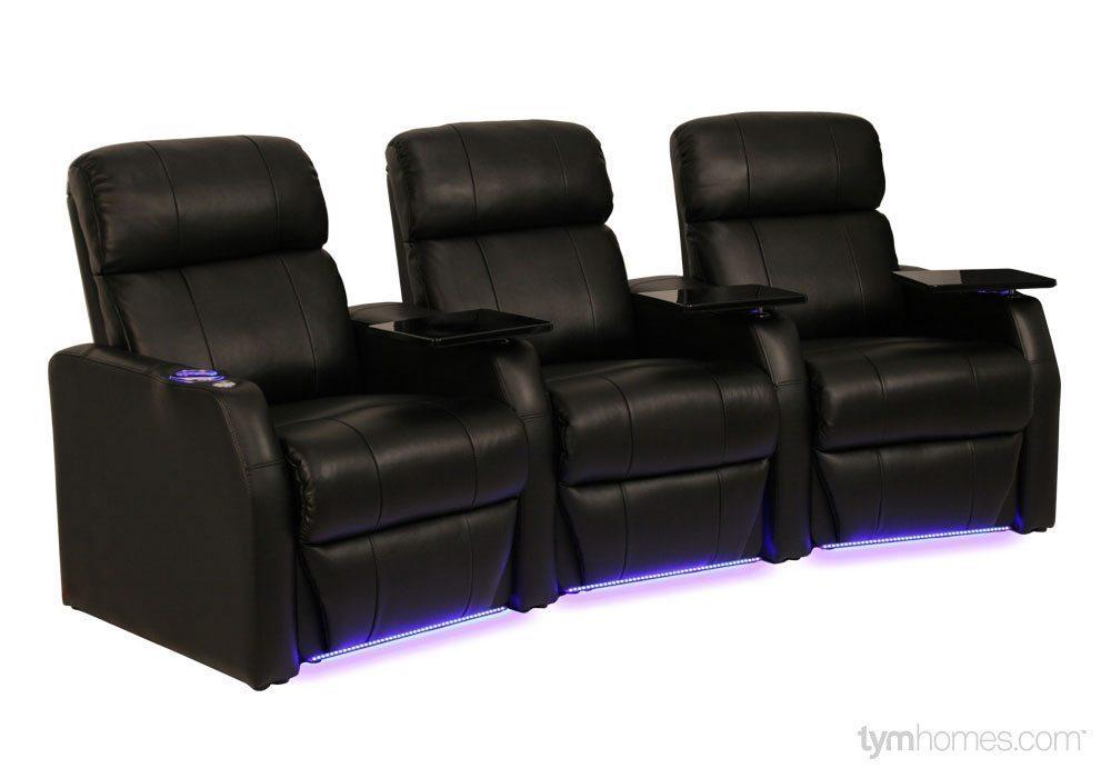 Seatcraft Home Theater Seating, Salt Lake City, Utah  |  Seatcraft 'Sienna'