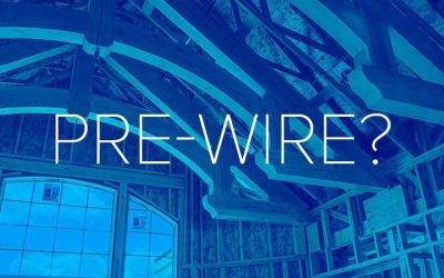 Building A Home – What Should I Pre-Wire | Tym