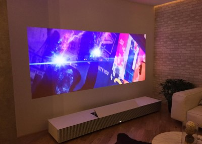 CES 2015 | Sony Life Space UX - 4K Ultra Short Throw Projector