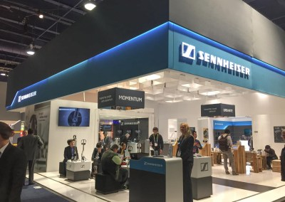 CES 2015 | Sennheiser Headphones Booth aka 'Heaven on Earth'