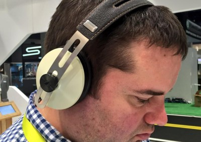 CES 2015 | Sennheiser Momentum Wireless Headphones