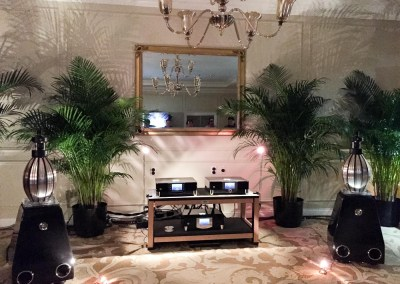 CES 2015 | MBL listening suite at the Venetian