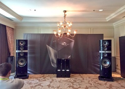 CES 2015 | Focal listening suite with the Utopia speakers