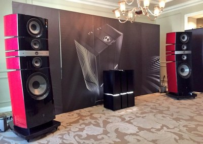 CES 2015 | Utopia speakers in the Focal listening suite
