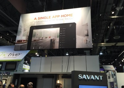 CES 2015 | Savant Systems booth