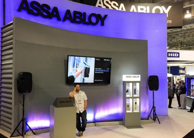 ISC West 2015 | ASSA ABLOY booth