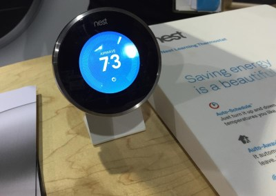 ISC West 2015 | Nest thermostat