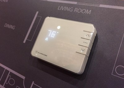 ISC West 2015 | Alarm.com NEW Smart Thermostat