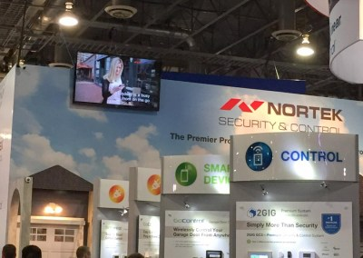 ISC West 2015 | Nortek booth, 2GIG, GoControl