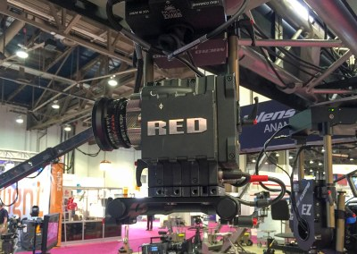 2015 NAB Show #NABshow | RED Digital Cinema camera with rig