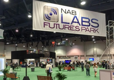 2015 NAB Show #NABshow | NAB Labs Futures Park, 8K