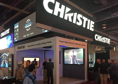 2015 NAB Show #NABshow | Christie Digital booth, 4K Laser Projection