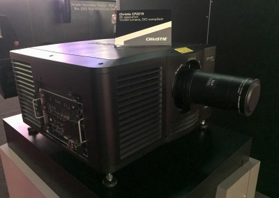 2015 NAB Show #NABshow | Christie Digital, 2K DLP Projection