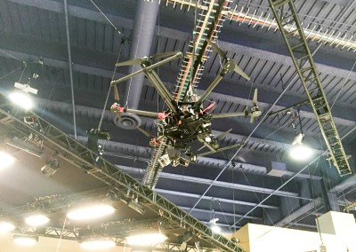 2015 NAB Show #NABshow | Blackmagic 4K camera drone