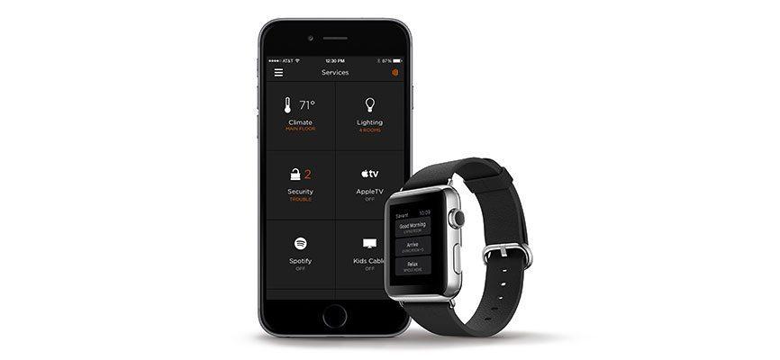 Savant home automation, Apple Watch, Salt Lake City, Utah