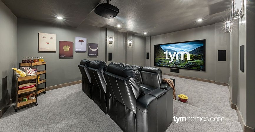 Home Theater Systems Can Feature Projectors or TVs