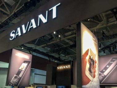 Savant booth, CEDIA 2015 | TYM, Salt Lake City, Utah