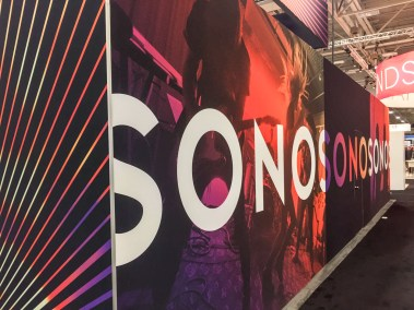 Sonos booth, CEDIA 2015 | Sonos available from TYM, Salt Lake City, Utah
