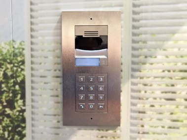 Control4 door station intercom, CEDIA 2015 | TYM, Salt Lake City, Utah