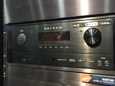 Anthem AV receiver, CEDIA 2015 | TYM, Salt Lake City, Utah
