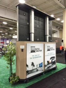Stealth Patio Theater, CEDIA 2015