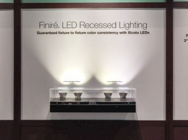 Lutron Finiré LED Recessed Lighting, CEDIA 2015 | TYM, Salt Lake City, Utah