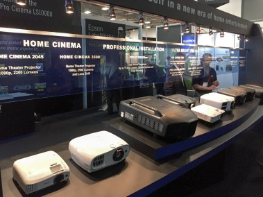 Epson Home Theater Projectors, CEDIA 2015 | TYM, Salt Lake City, Utah