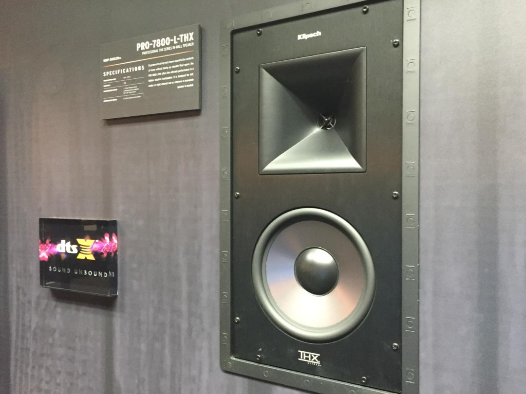 Klipsch DTS:X demo at CEDIA 2015