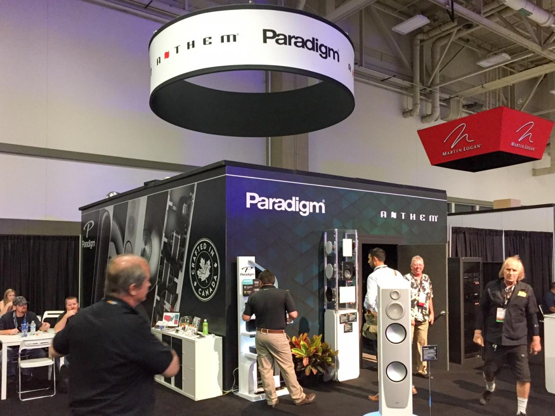 Paradigm booth, CEDIA 2015