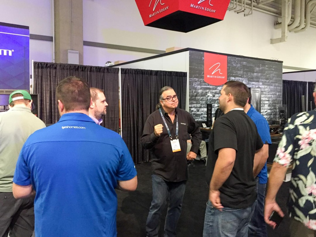 Our friend Rob Sample from Paradigm, CEDIA 2015