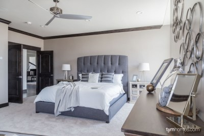 Master suite with Savant professional home automation, 2015 Utah Valley Parade of Homes